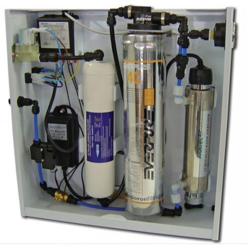 Depuratore a microfiltrazione RG BASIC ad uso domestico sottolavello  Spazio Acqua